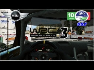 WRC 3 - Mini John Cooper Works WRC - Rally de Mexico - Derramadero