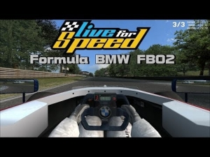 Live For Speed - Formula BMW FB02 @ Blackwood GP Track