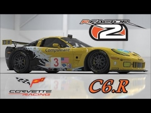 rFactor 2 - Chevrolet Corvette C6 R @ Lime Rock Park - 5 laps