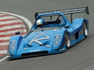 Race 07 Gameplay: SR8 Radical around Monza Reverse