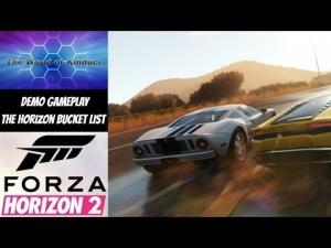 Forza Horizon 2 Demo Gameplay - The Horizon Bucket List