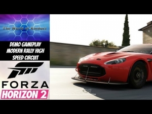 Forza Horizon 2 Demo Gameplay - Modern Rally High Speed Circuit