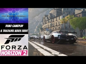 Forza Horizon 2 Demo Gameplay - Il Tricolore Aeroe Event