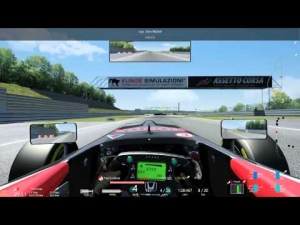 Multiclass race @ Nurburgring Sprint (start of race)