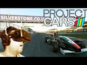 Oculus Rift DK2 - Project CARS - Ariel Atom 500 V8 @ Silverstone GP