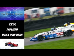 iRacing Skip Barber at Brands Hatch Circuit - Cracking race