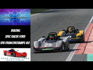iRacing Spec Racer Ford at Spa Francorchamps - Good battle with the #7