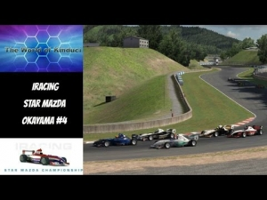 iRacing Star Mazda Official race at Okayama - High SOF action