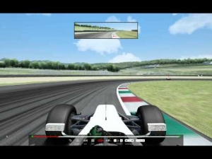 Assetto Corsa flying T125 RD race