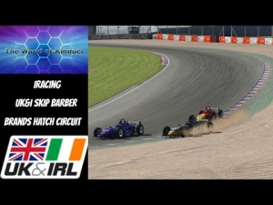 iRacing UK&I Skip Barber League race round 8 from Brands Hatch