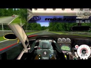 [Race 07] Nordschleife - Ferrari 575 GTC - OnBoard - Logitech G27 - Full HD