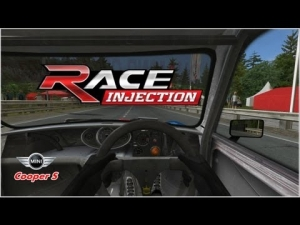 Race Injection - Mini Cooper S - The Alps RaceRoom Hillclimb - 2 laps