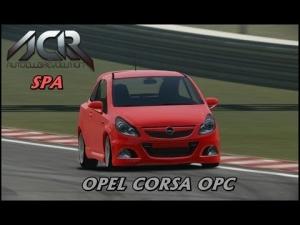 Auto Club Revolution - Opel Corsa OPC - Spa Francorchamps