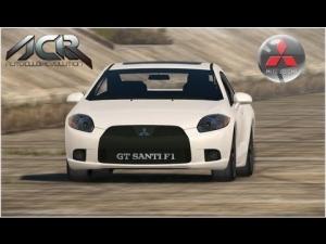 Auto Club Revolution - Mitsubishi Eclipse GT - L.A. RIVER - 3 laps
