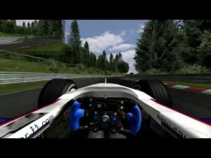 [rFactor] Nordschleife - BMW Sauber F1 2007 - 5.36.516 - Logitech G27 - Full HD