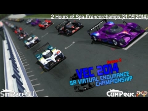 SR VEC 2014 #2 - 2 Hours of Spa Highlights