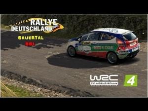 WRC 4 - Ford Fiesta R2 @ Adac Rallye Deuschtland - Sauertal - SS1