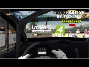 WRC 4 - Ford Fiesta R2 @ Adac Rallye Deuschtland - Grafschaft - SS2
