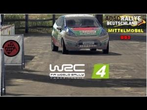 WRC 4 - Ford Fiesta R2 @ Adac Rallye Deuschtland - Mittelmosel - SS3