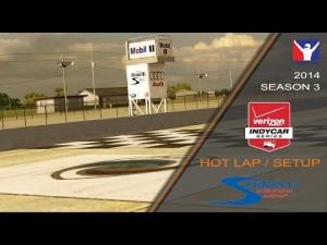 iRacing Indycar DW12 @ Sebring | Setup & Hotlap 1'41.979