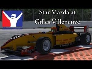 iRacing - Gilles Vielneuve Star Mazda