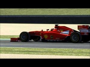[Assetto Corsa][Free Practice1]Formula 1 - Warm up Race 2 laps@ Mugello