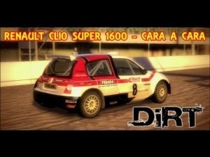 DIRT | RENAULT CLIO SUPER 1600 | CARA A CARA | FWD-AUSTRALIA