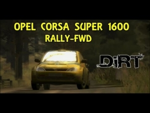DIRT | OPEL CORSA SUPER 1600 | RALLY-FWD
