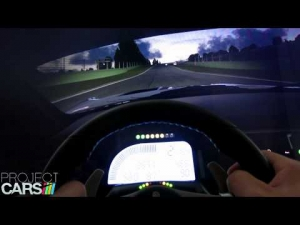 pCARS: Z4 GT3-Imola (night to day cycle/rain)