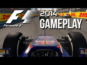 F1 2014 Exclusive Gameplay - Russian Grand Prix Sochi (First Look)