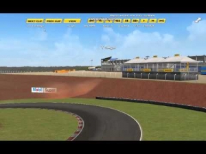 GSCE | The proper line into turn 2, Cascavel