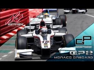 Assetto Corsa GP2 Monaco Helmet Cam