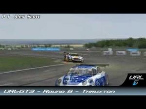 URL-GT3 - Round 6 - Thruxton highlights