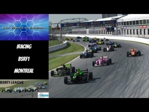 iRacing BSRF1 Season 2 Round 9 from Montreal - 26 Car Grid