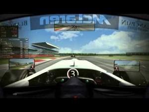 Assetto Corsa Silvertone 5 laps VisorXForce helmet vision.