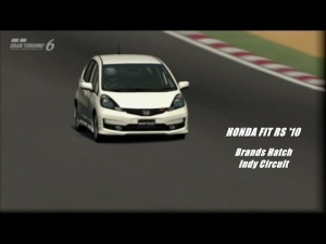 Gran Turismo 6 - Honda Fit RS '10 @ Brands Hatch Indy Circuit - Copa Amateur