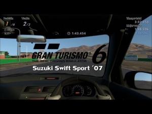 Gran Turismo 6 - Suzuki Swift Sport ' 07 @  Willow Springs International - Copa Amateur