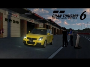 Gran Turismo 6 - Suzuki Swift Sport ' 07 @ Brands Hatch - At sunset