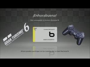 Gran Turismo 6 - Pruebas de Licencia Nacional B