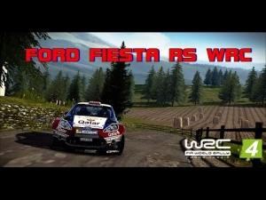 WRC 4 - Ford Fiesta RS WRC @ Rallye de France-Alsace - Strasbourg -  SS1