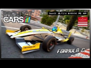 Project CARS MultiCam - (Ultra Settings) Formula C @ Azure Circuit