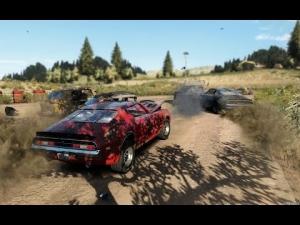 Next Car Game Gravel Track External View