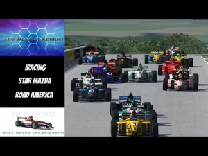 iRacing Star Mazda Official race at Road America - Good solid race