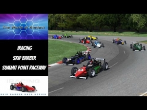 iRacing Skip Barber Official race at Summit Point Raceway - Fighting the understeer