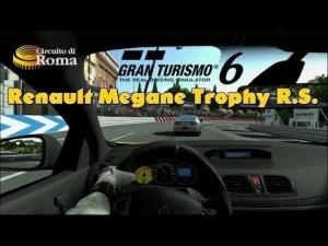 Gran Turismo 6 - Renault Megane Trophy R.S.  ' 11 @ Circuito di Roma