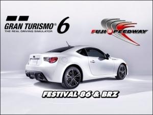 Gran Turismo 6 - Subaru BRZ S ' 12 @ Fuji Speedway F - Festival 86 & BRZ