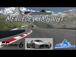 Gran Turismo 6 - Mercedes-Benz AMG VGT @ Matterhorn Dristelen