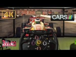 Project CARS | Formula C race + replay | Lakeville Raceway | triple ULTRA 4K