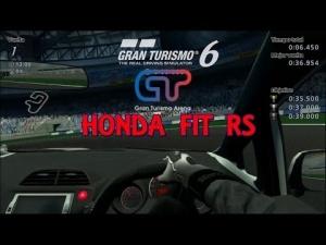 Gran Turismo 6 - Honda Fit RS @ Gran Turismo Arena - Recorrido A