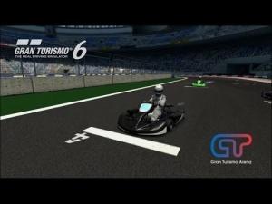 Gran Turismo 6 - Racing Kart Junior @ Gran Turismo Arena - Recorrido A